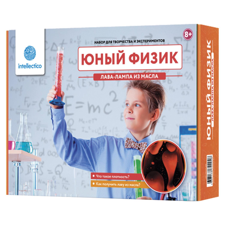 """Набор для экспериментов """"Юный физик. Лава-лампа из масла"""", INTELLECTICO"""