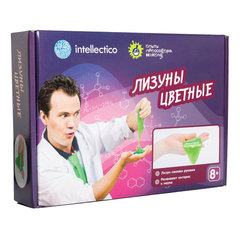 """Набор для экспериментов """"Опыты профессора Николя. Лизуны цветные"""", INTELLECTICO, 855"""