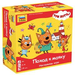 """Игра-ходилка настольная детская """"Три кота. Поход к маяку"""", игровое поле, фишки, жетоны, ЗВЕЗДА, 8769"""