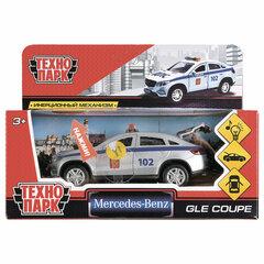 "Машина металлическая ""MERCEDES-BENZ GLE COUPE ПОЛИЦИЯ"", 12 см, инерционная, ТЕХНОПАРК, GLE-COUPE-P-SL"