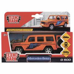"""Машина металлическая """"MERCEDES-BENZ G-CLASS"""", 12 см, инерционная, ТЕХНОПАРК, G-CLASS-S"""