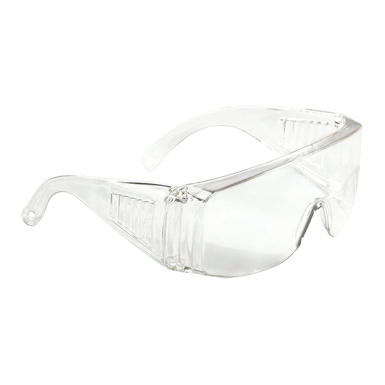 Очки защитные СИБРТЕХ, открытого типа, прозрачные, ударопрочный поликарбонат