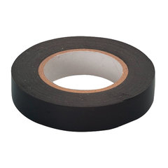 Изолента ПВХ, 19 мм х 20 м, СИБРТЕХ, 180 мкм, цвет-черный