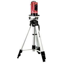 Уровень лазерный 150 мм MATRIX, самовыравнивающийся штатив 1150 мм, пластиковый кейс