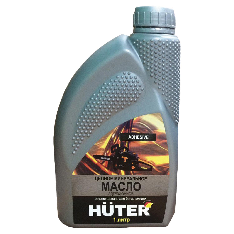 Масло цепное минеральное, 1 литр, HUTER 80W90