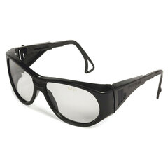 Очки защитные открытые РОСОМЗ О2 Spectrum, прозрачные, регулируемые дужки, защита от царапин, минеральное стекло