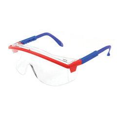 Очки защитные открытые РОСОМЗ О37 Universal Titan, прозрачные, регулируемые дужки и угол наклона защитного стекла, поликарбонат