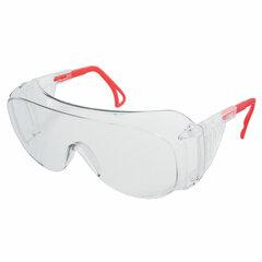 Очки защитные открытые РОСОМЗ О45 Визион super, прозрачные, регулируемые дужки, незапотевающее покрытие, поликарбонат