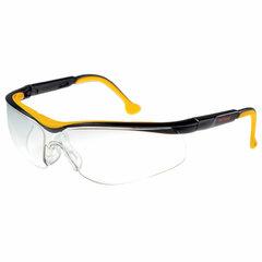 Очки защитные открытые РОСОМЗ О50 Monaco StrongGlass, прозрачные, регулируемые дужки, незапотевающее покрытие, поликарбонат