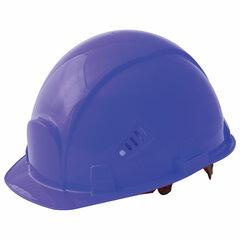 Каска защитная РОСОМЗ СОМЗ-55 Favorit Trek Rapid, храповый механизм регулировки, пластиковое оголовье, СИНЯЯ