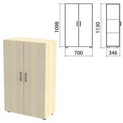 "Шкаф закрытый ""Канц"", 700х350х1130 мм, цвет дуб молочный (КОМПЛЕКТ)"
